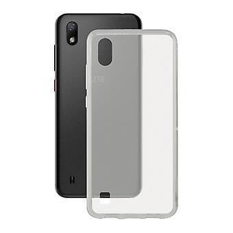 Mobile kansi Zte Blade A7 2019 KSIX Flex läpinäkyvä