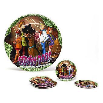 Set van 5 platen Scooby-Doo Karton