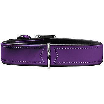 Hunter kaulus pehmo violetti (koirat, kaulus kaulanauha, johtaa ja valjaat, pannat)