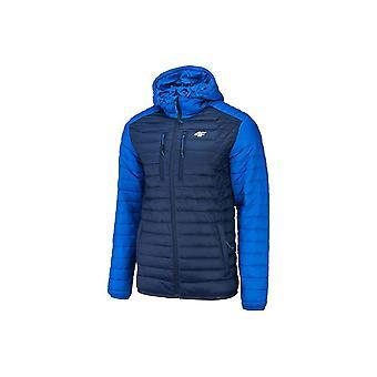 4F KUMP004 H4Z19KUMP004NIEBIESKI universal all year men jackets