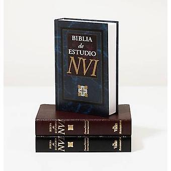 NVI Biblia De Estudio Imit Negro by Zondervan - 9780829736977 Book