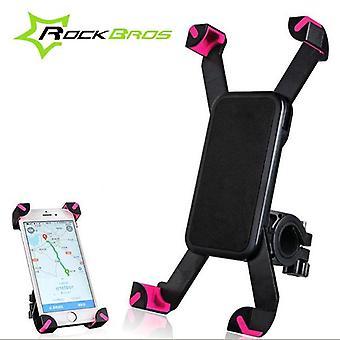 Rockbros 360° rotation universal bicycle bike motorcycle bracket holder for phone 3.5