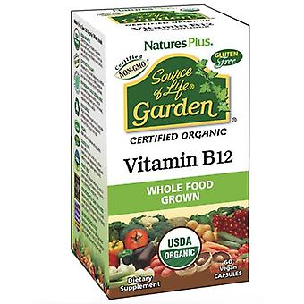 Nature's Plus Source of Life Garden Vitamin B12 1000ug VCaps 60 (30734)