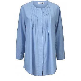 Masai Clothing Ibbi Blue Blouse