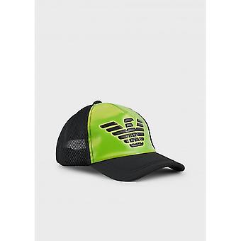 Emporio Armani Polyester Black/green Cap