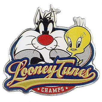 Looney Tunes Badge Sylvester & Tweety