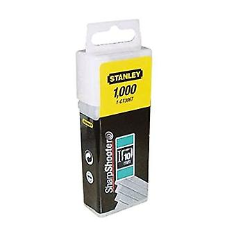 Stanley 1CT306T Flat Narrow Crown Staples 10mm CT3
