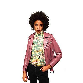 Mango 13040395 Leather jacket Ladies