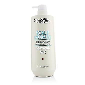 Dual senses scalp specialist deep cleansing shampoo (cleansing for all hair types) 215831 1000ml/33.8oz