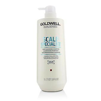 Champú limpiador profundo especialista en cuero cabelludo de doble sentido (limpieza para todos los tipos de cabello) 215831 1000ml/33.8oz