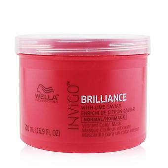Wella Invigo Brilliance Vibrant Färgmask - # Normal 500ml/16.9oz
