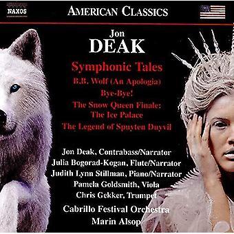 Symphonic Tales [CD] USA import