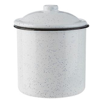 Hygge Medium Black and White Canister