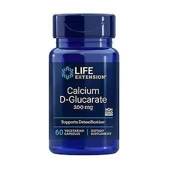 Kalsium D-Glucarate 60 vegetabilske kapsler