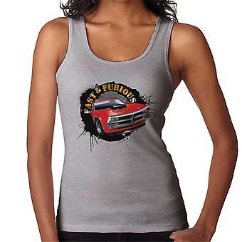Fast and Furious Car Splatter Women's Vest
