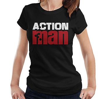 Action Man Logo Bullet Hole Women's T-Shirt