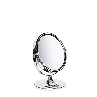 Sabichi New York Chrome Plated Oval Mirror