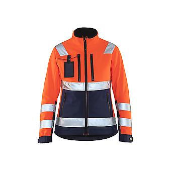 Blaklader hi-vis soft-shell jacket 49022517 - womens
