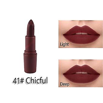 Makeup Waterproof / Water-resistant Matte Lip Stick For Lips Makeup Cosmetics
