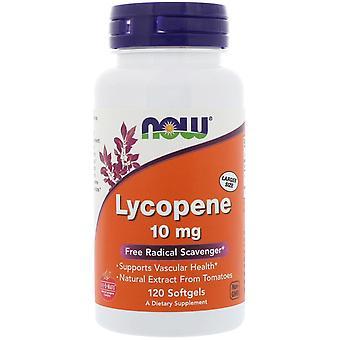 Now Foods, Lycopene, 10 mg, 120 Softgels