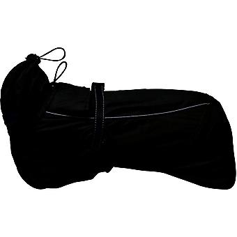 Ancol Muddy Paws Extreme Monsoon Dog Coat - Preto - 35cm