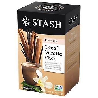 Stash Decaf Vanilla Chai Black Tea