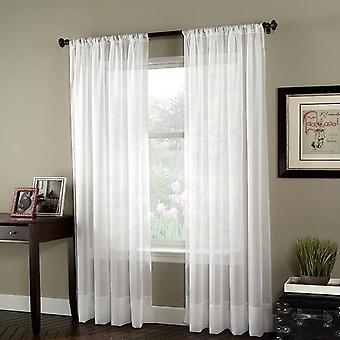 Window Curtains For Living Room Bedroom Modern Tulle Fabric Drapes