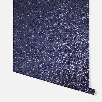 900906 - Sequin Sparkle Navy - Arthouse Wallpaper