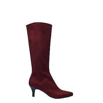 Impo Womens Noland tissu pointu Toe genou haute mode bottes