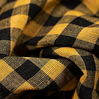 Black & yellow gingham parna