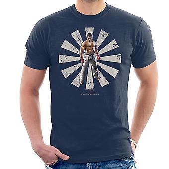 Kazuya Mishima Retro Japanese Tekken Men's T-Shirt