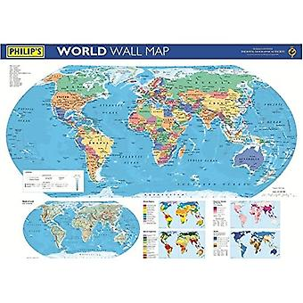 Philip's World Wall Map (Philip's Wall Maps)