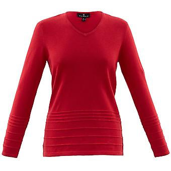 MARBLE Marble Red Sweater 5894