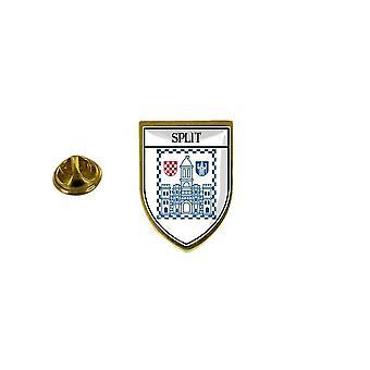 mänty mänty merkki mänty pin-apos;matkamuisto kaupungin lippu maa vaakuna ecusson split kroatia