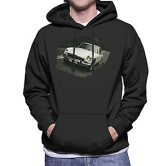 MG On The Road British Motor Heritage Men's Hooded Sweatshirt