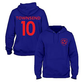 Andros Townsend 10 Crystal Palace Style Player Football Hoodie