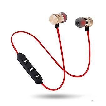 5.0 Bluetooth-hörlurar- Sport Neckband Magnetiska trådlösa hörlurar, Stereo