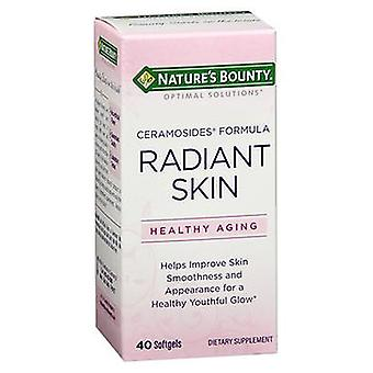 Nature's Bounty Optimal Solutions Radiant Skin Dietary Supplement Softgels, 40 Softgels