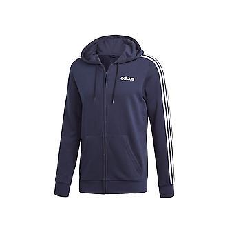 アディダスエッセンシャル3ストライプFZフレンチテリーDU0471ユニバーサルオールイヤー男性スウェットシャツ