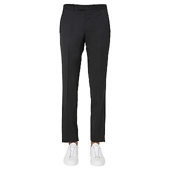 Z Zegna 8zf0147fsac28 Men's Grey Wool Pants