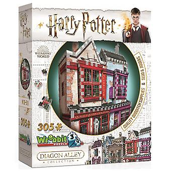 Wrebbit 3D Diagon Alley Collection: Quidditch Supplies & Slug & Jiggers (305pc)