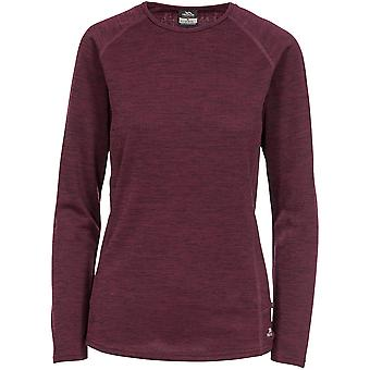 Overtreding Womens Racquel Wicking Quick Dry Baselayer Top