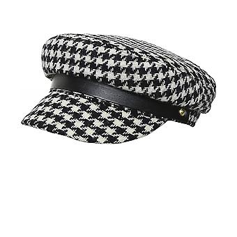 Holland Cooper Houndstooth Bretton Hat