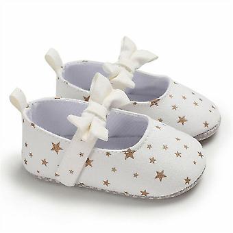 Vastasyntyneet vauvan kengät Prinsessa Tähti Bow Pinnasänky Söpö Vauvankengät