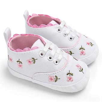 Boy Solid Star Soft Cotton Slipper Slip-resistant Sole Newborn Floral Sneakers