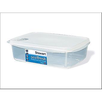 Stewart Lunch Box Clear 1L 1376