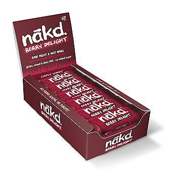 Nakd Berry Delight Bar 35g x18