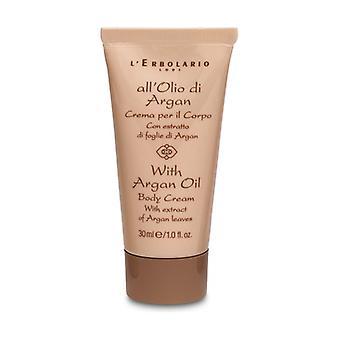 Minitaglia Body Cream with Argan Oil 30 ml of cream