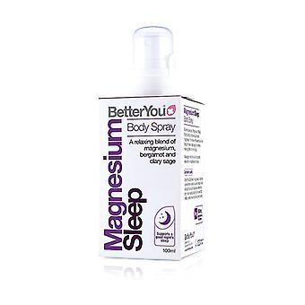 Magnesium oil goodnight spray 100 ml of oil