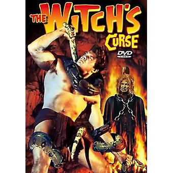 Witch's Curse [DVD] USA importeren